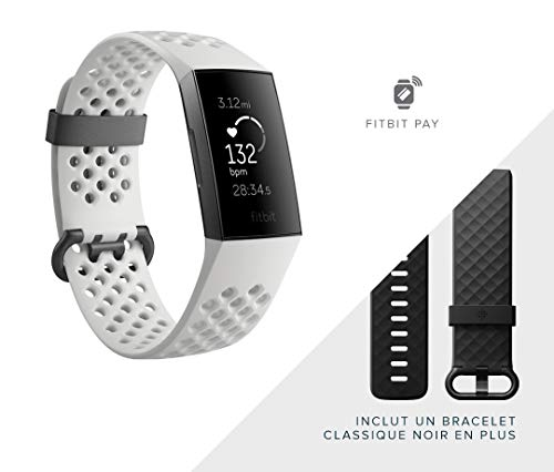 Fitbit Charge 3 Gesundheits und Fitness-Tracker